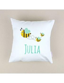 Cojín almohada personalizado abeja