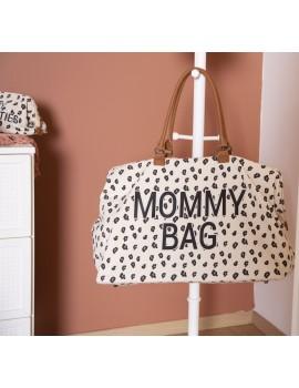 Mommy bag Líneas leopard