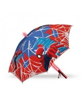 Paraguas Spiderman con luz