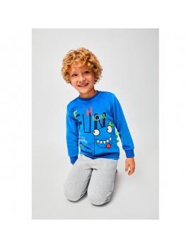 Pijama terciopelo niño 2 a 6 años (Varios modelos)