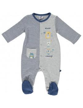 Pijama algodón. Talla 0 a 6 meses