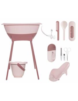 Conjunto 8 piezas Bañera Baby bath Luma