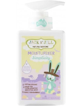 Crema hidratante Simplicity Jack and Jill