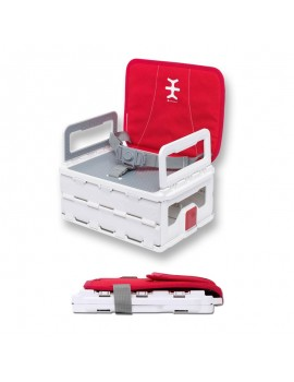 TRONA NIKIDOM FLAT PACK BOOSTER HEATHER RED