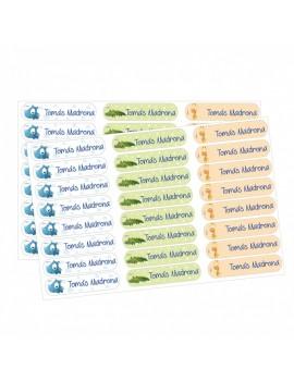 Etiquetas personalizadas textil (varios modelos)
