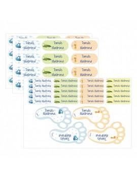 Etiquetas personalizadas multiusos (varios modelos)
