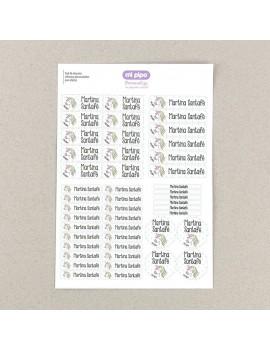 Etiquetas para objetos (10 modelos)