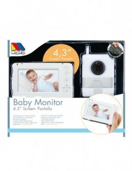 "Vigilabebés baby monitor 4,3"" Moltó"